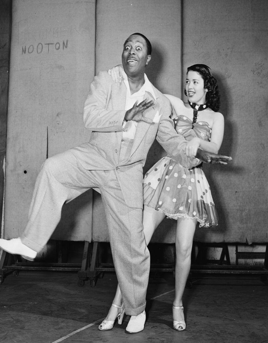Louis Jordan balla a New York