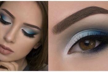Blu smokey eye per occhi castani: il video tutorial