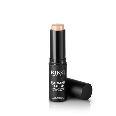 RADIANT TOUCH CREAMY STICK HIGHLIGHTER Kiko- una texture morbida, corposa e altamente sfumabile che permette di creare sofisticati punti luce