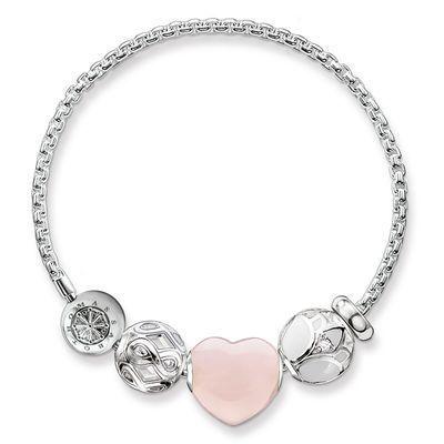 Bracciale cuore rosa €168 Thomas Sabo
