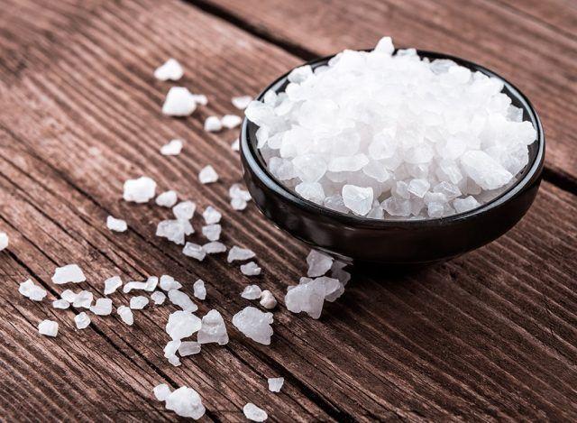 Mi raccomando, andateci piano con il sale!