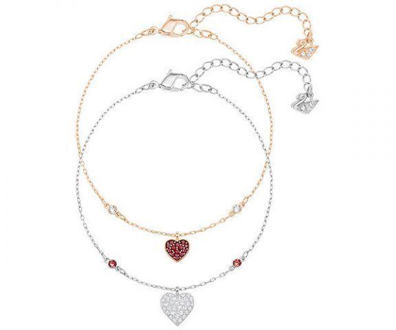 Braccialetto Set Crystal Wishes Heart €89 Swarovski