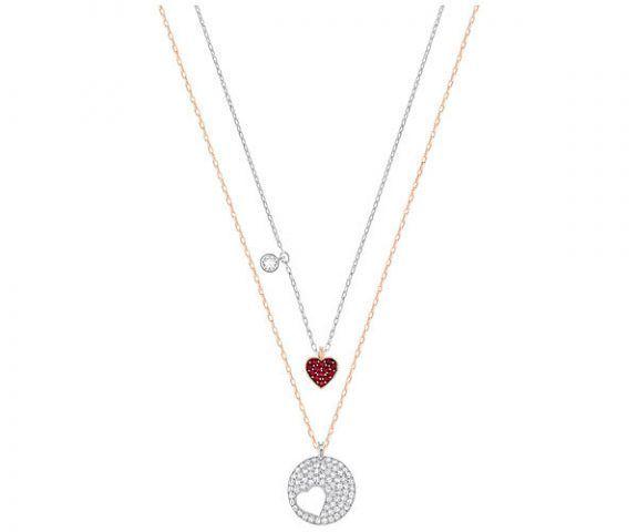 Set di pendenti Crystal Wishes Heart €99 Swarovski