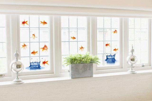 Come decorare le finestre di casa bigodino for Pellicola adesiva per vetri ikea