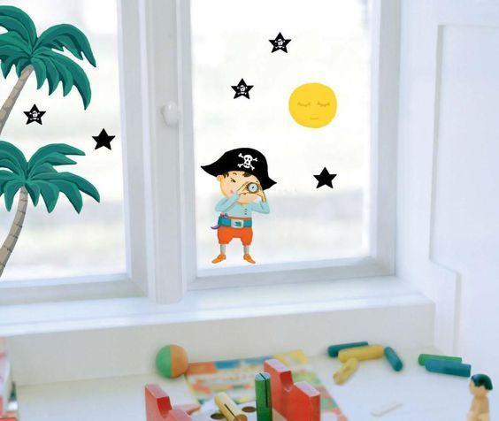 Un pirata sulla finestra