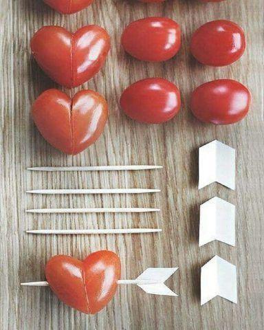 Frecce salate di pomodori ciliegini