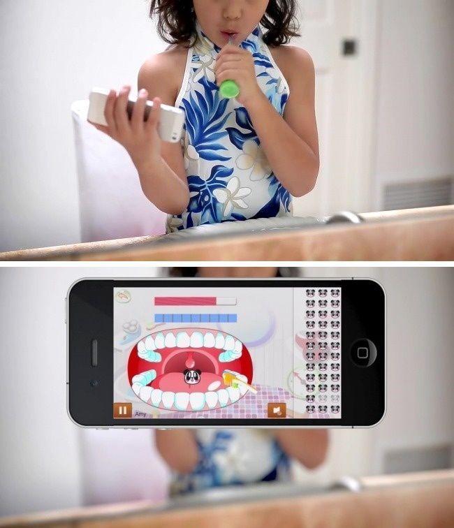 L'app per imparare a lavarsi i denti