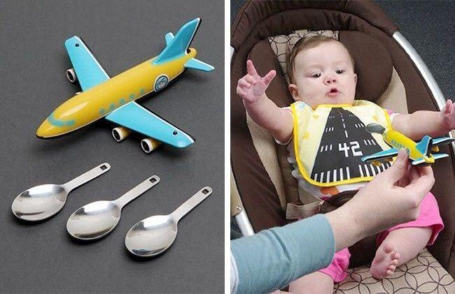 Il cucchiaio aeroplanino