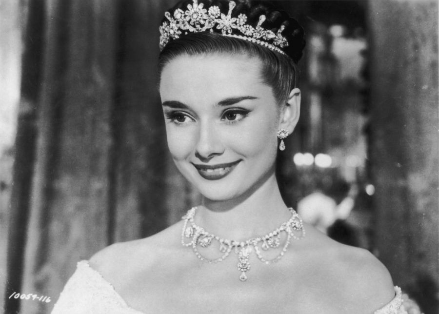 """Audrey Hepburn in """"Vacanze romane"""""""