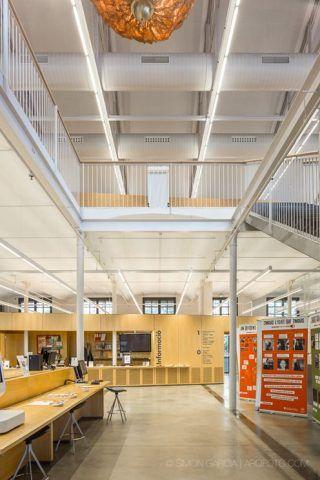Biblioteca Can Manyer. Vilassar de Dalt. Spagna