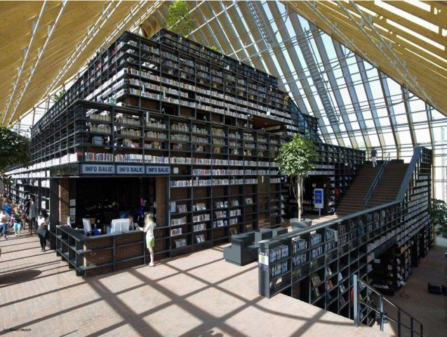 Book Mountain Spijkenisse Rotterdam / Netherlands / 2012