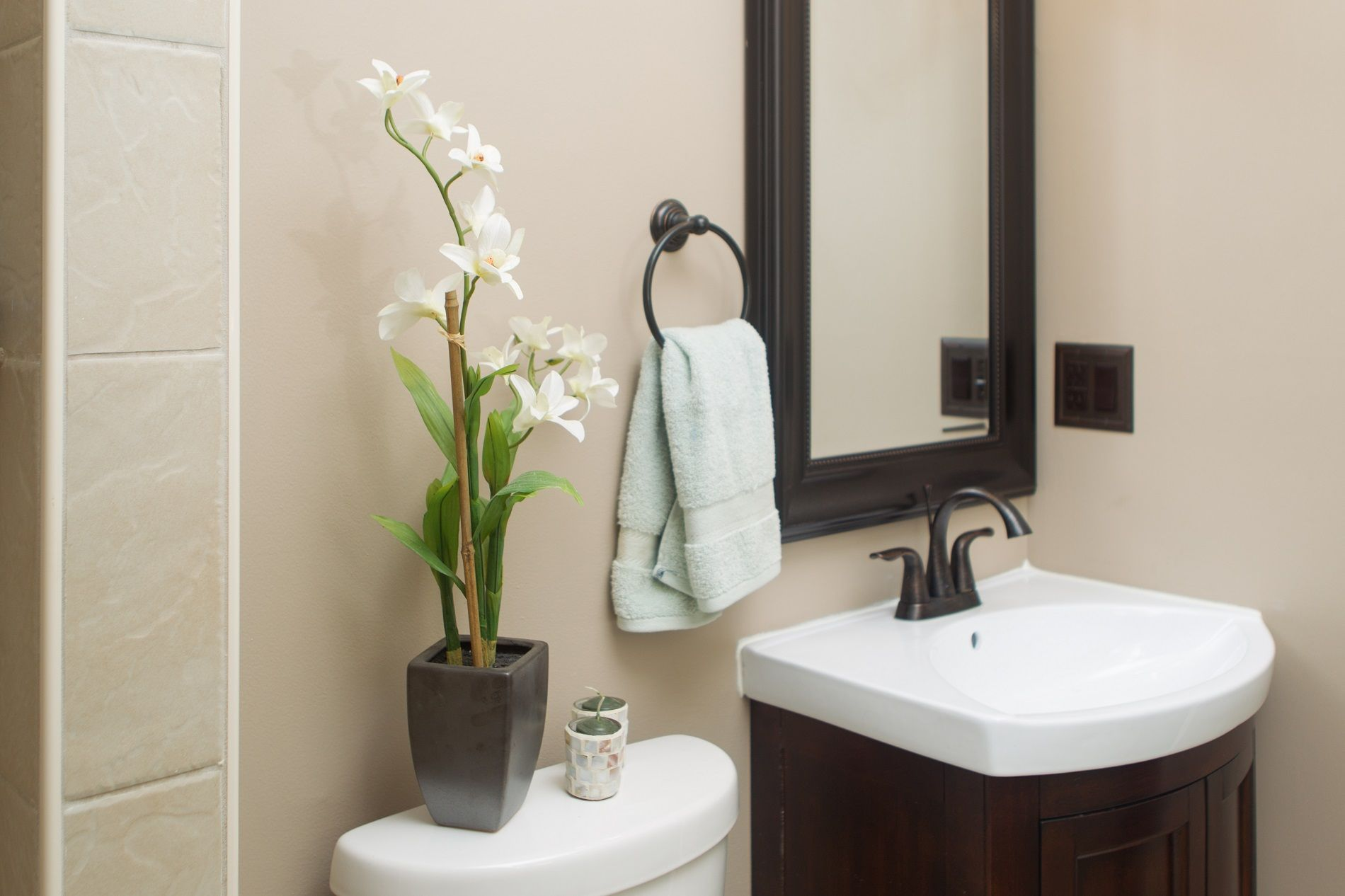 Cosa devi fare se hai un bagno piccolo bigodino
