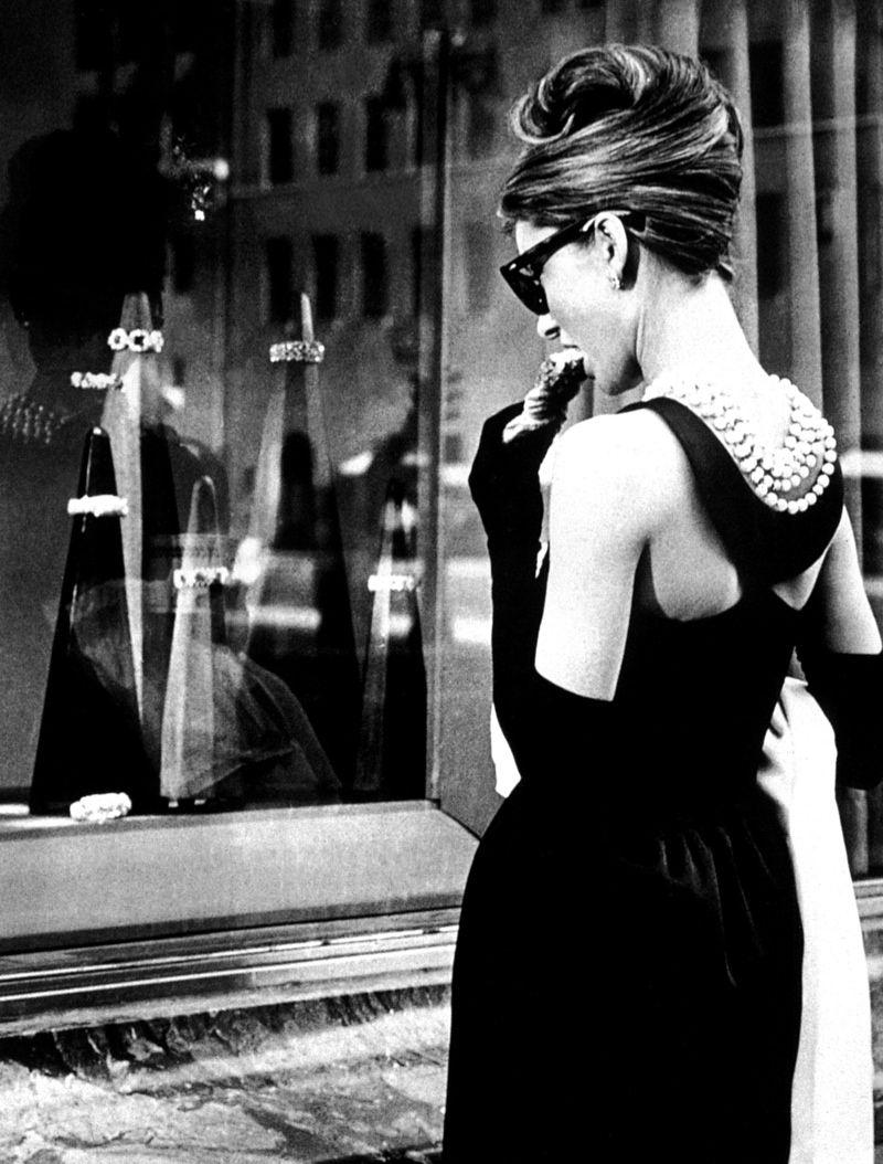 """Audrey e il tubino di """"Colazione da Tiffany"""""""