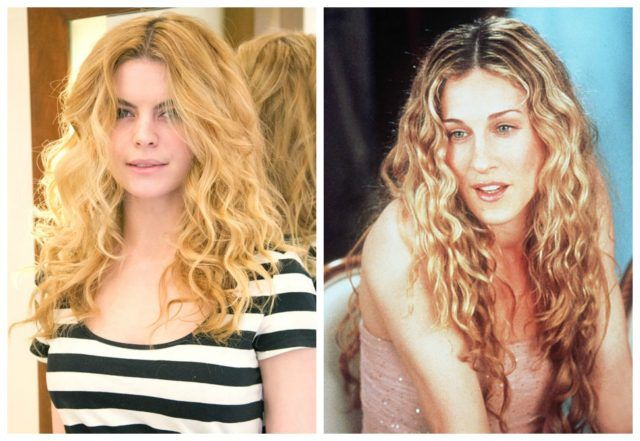 Carrie Bradshaw di Sex and The City