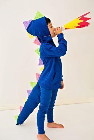 Costume di Carnevale fai da te: drago