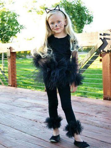 Costume di Carnevale fai da te: gatto
