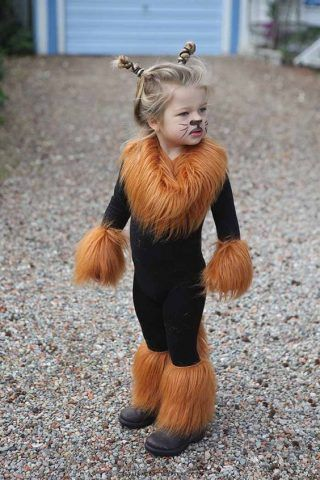 Costume di Carnevale fai da te: leone