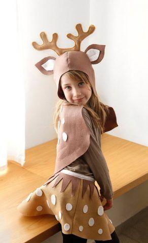 Costume di Carnevale fai da te: renna