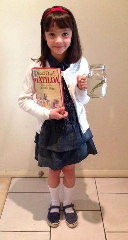 Costume di Carnevale fai da te: Matilda