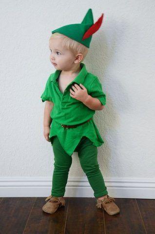 Costume di Carnevale fai da te: Peter Pan