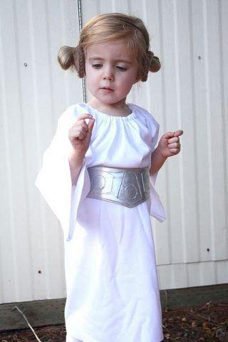 Costume di Carnevale fai da te: Principessa Leila