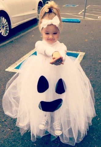 Costume di Carnevale fai da te: fantasma