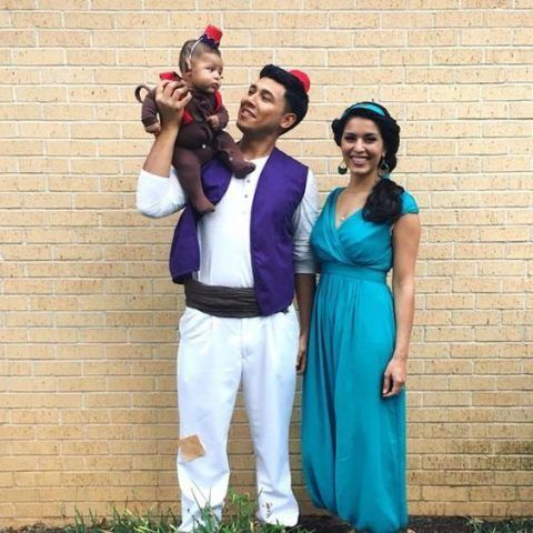 Costume di Carnevale fai da te: Aladdin