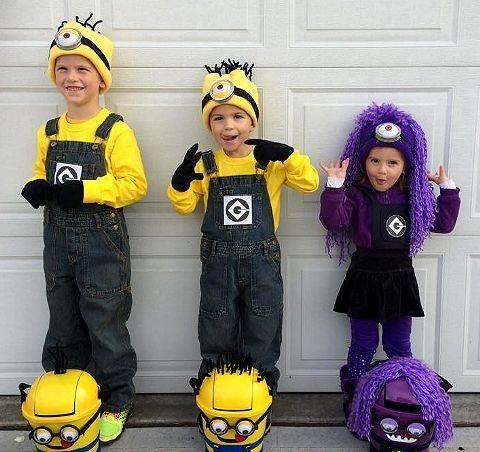 Costume di Carnevale fai da te: i Minions