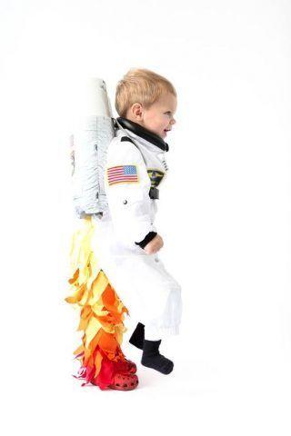 Costume di Carnevale fai da te: astronauta