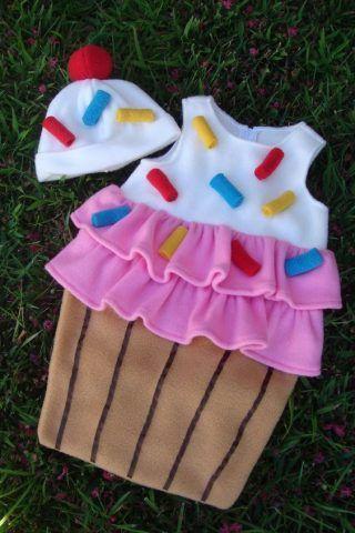 Costume di Carnevale fai da te: cupcake