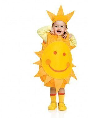 Costume di Carnevale fai da te: sole