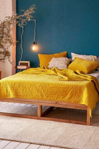 Il giallo lo uso nei complementi d'arredo