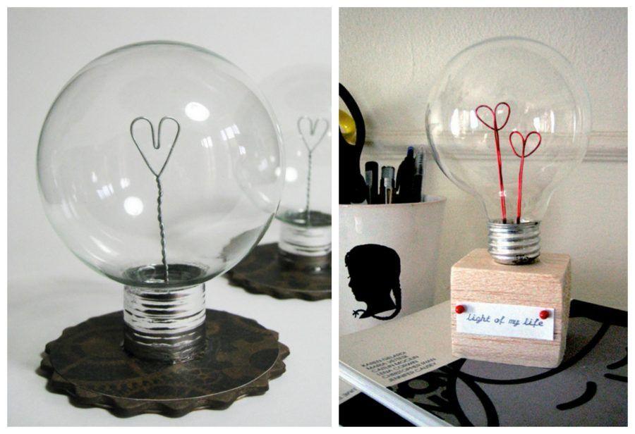 lampada amore per san valentino