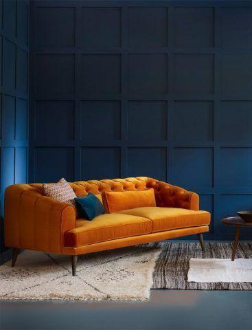 Arancio e blu