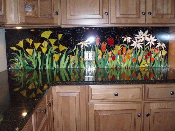 Una cucina in fiore