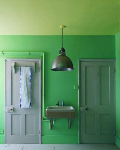 Tante tonalità di verde