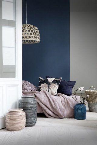 Blu e grigio