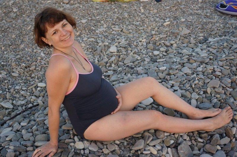 Mamma Veronika incinta di Erofey