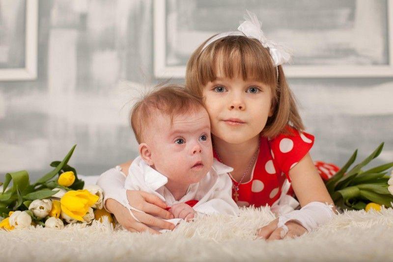 Con la sorella maggiore!