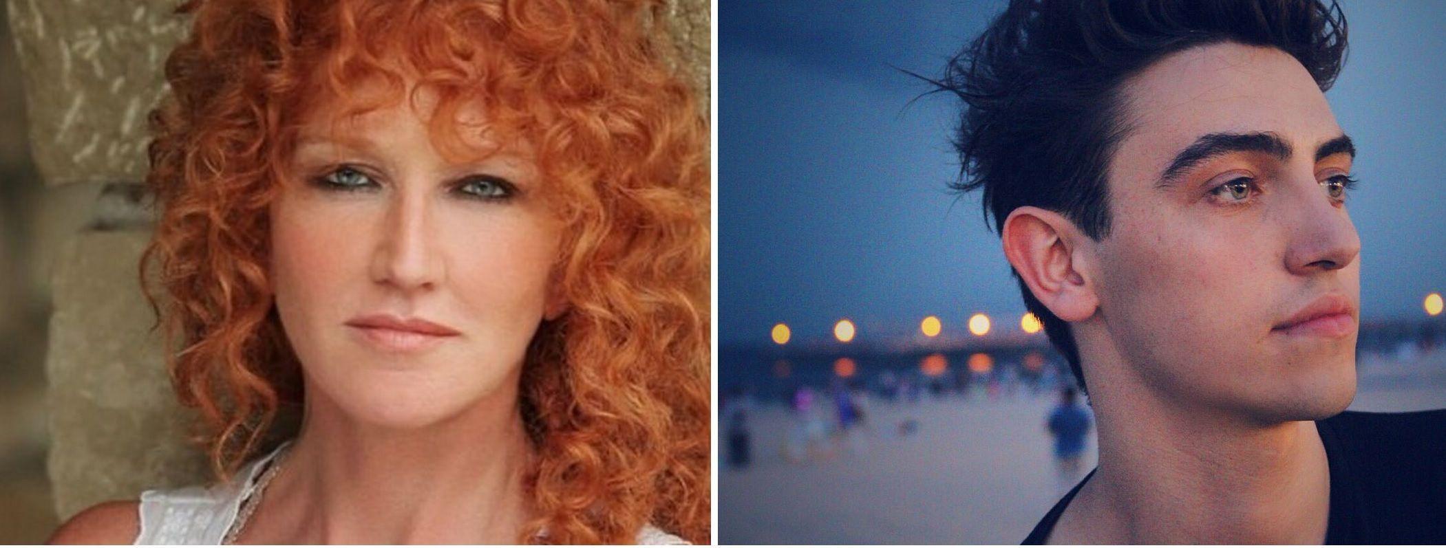 Fiorella Mannoia e Michele Bravi