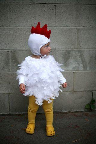 Costume di Carnevale fai da te: gallina