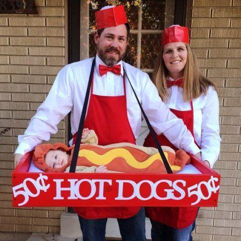 Costume di Carnevale fai da te: hot dog