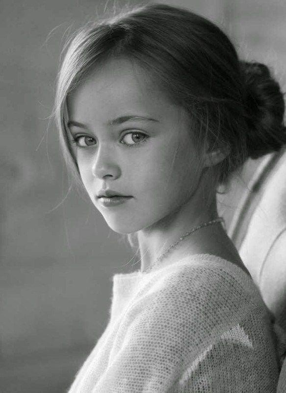 Modella già a 8 anni