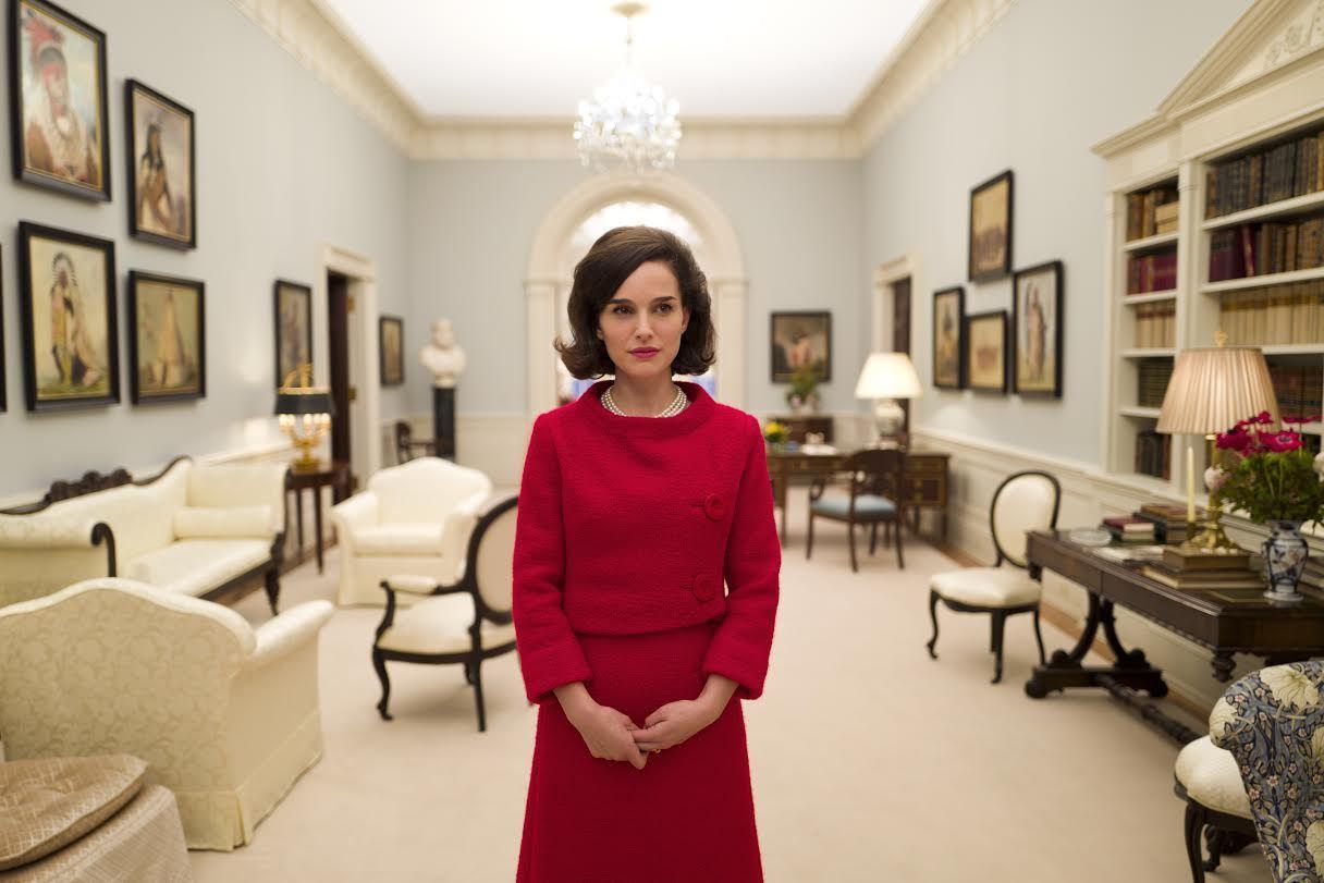 Immagini dal film Jackie con Natalie Portman