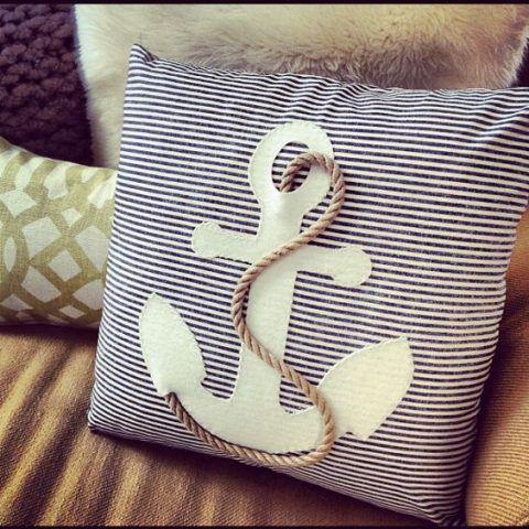 Il cuscino può dare un tocco di particolarità