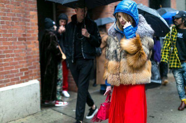 Must have street style: pelliccia