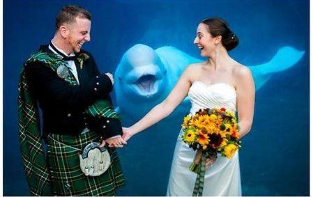 Una foto di matrimonio indimenticabile!