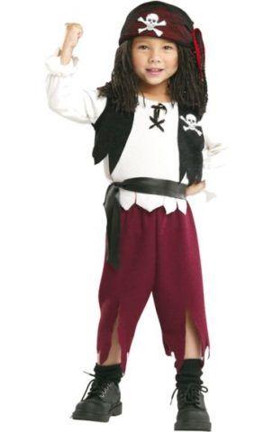 Costume di Carnevale fai da te: pirata