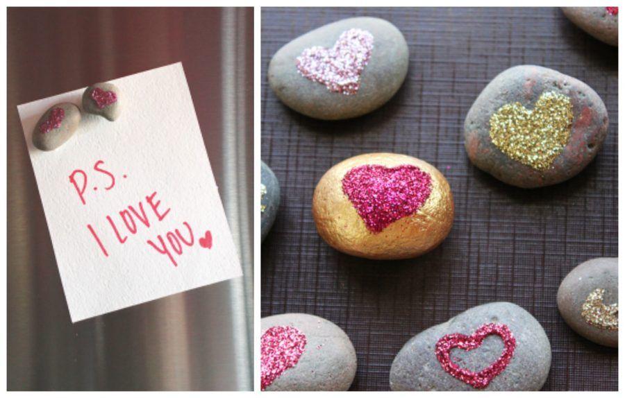sasso magnete per san valentino