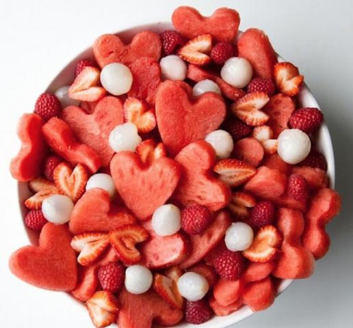 Cuori di frutta